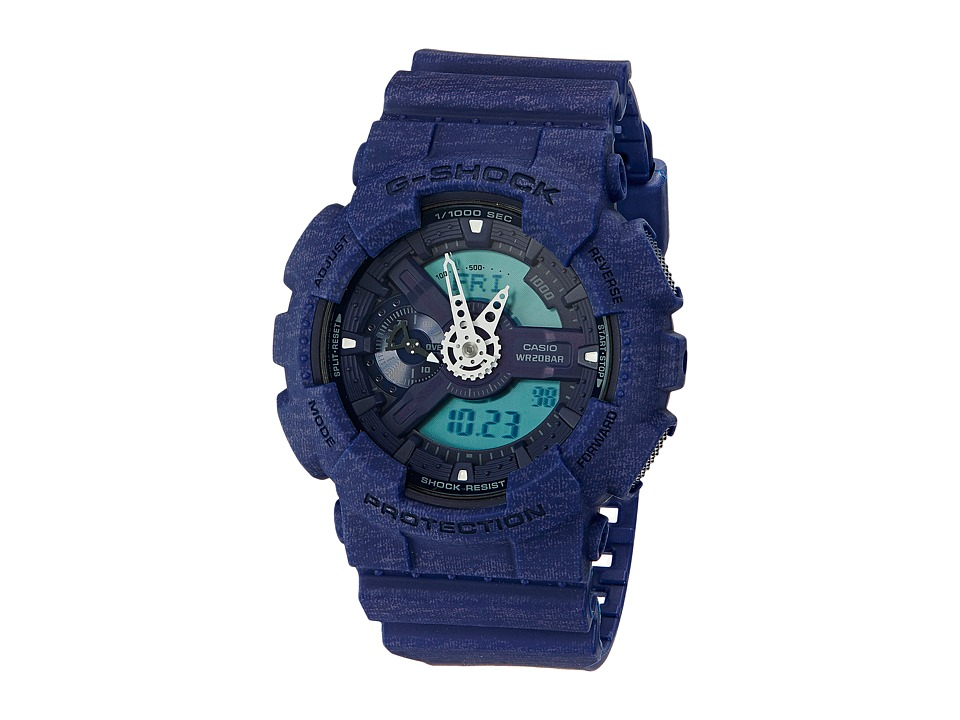 G Shock GA 110HT 2 Blue Sport Watches