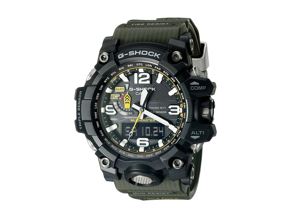 G Shock GWG 1000 Green/Balck Sport Watches