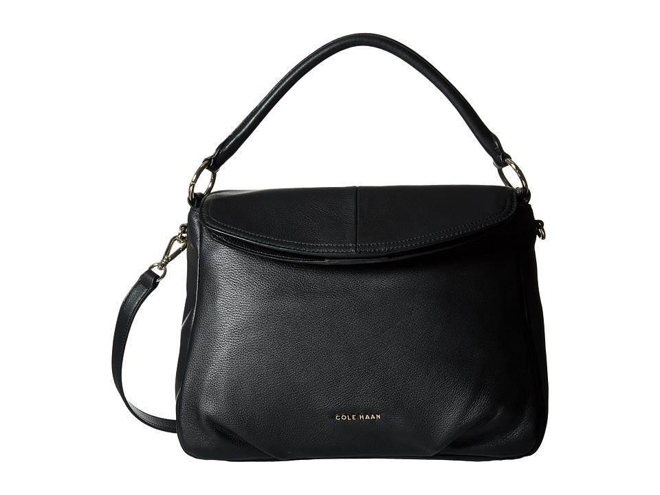 Cole Haan Magnolia Crossbody Hobo Black Hobo Handbags