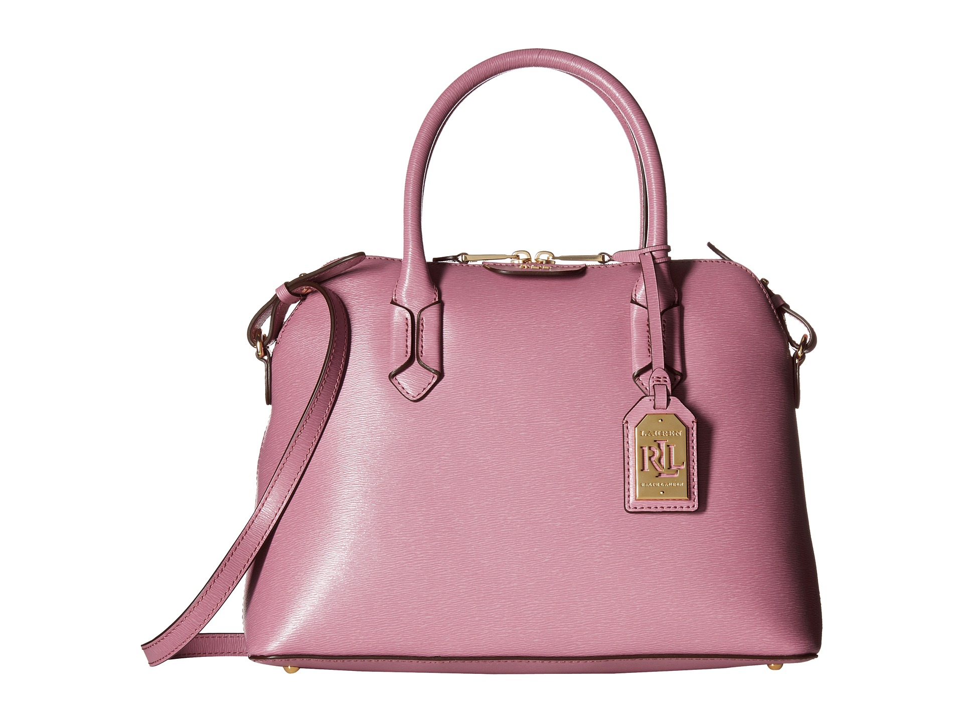 Ralph Lauren Tate Dome Satchel Laukku : Lauren by ralph tate dome satchel deco rose