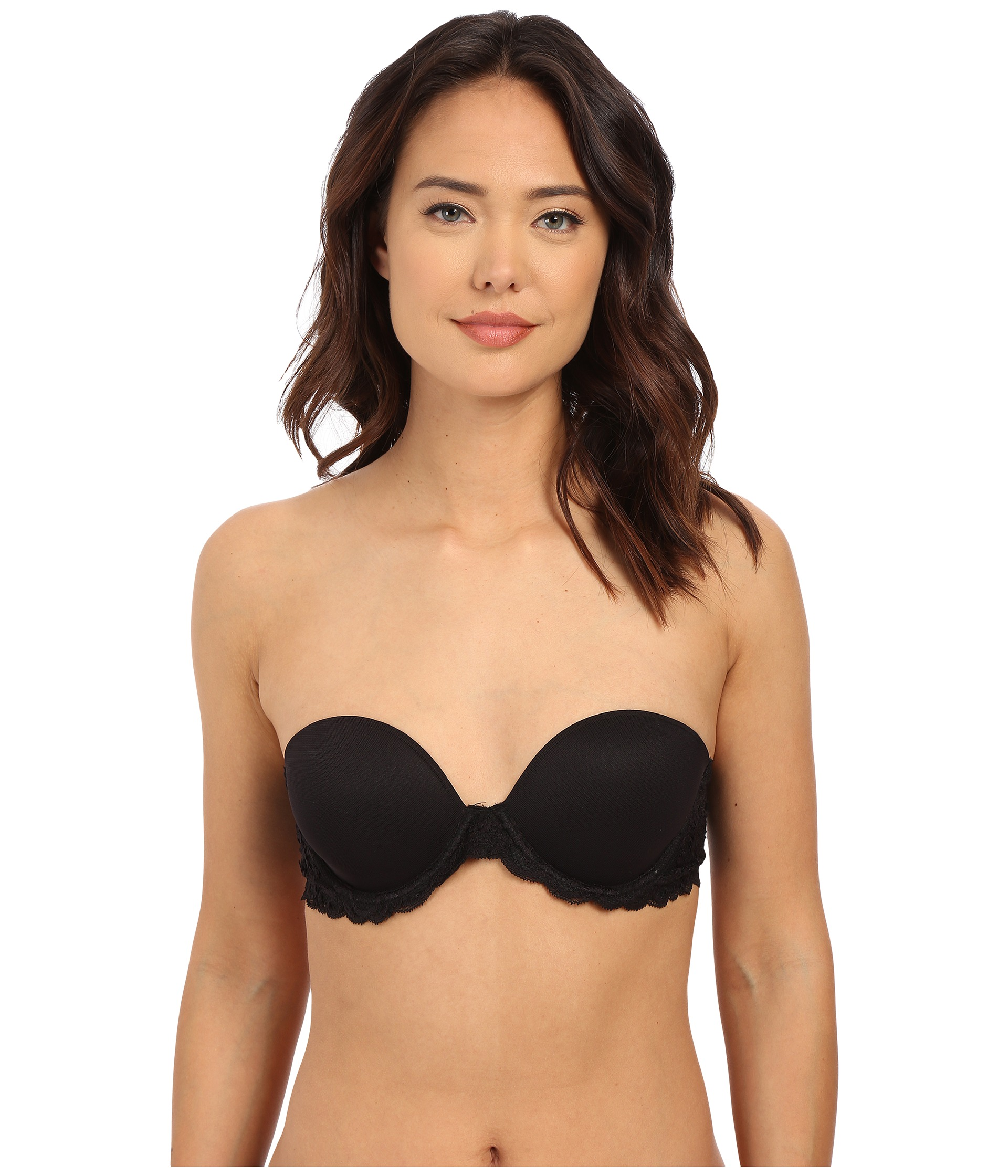 Natori Feathers Strapless Plunge Multiway Bra 731023 at ...