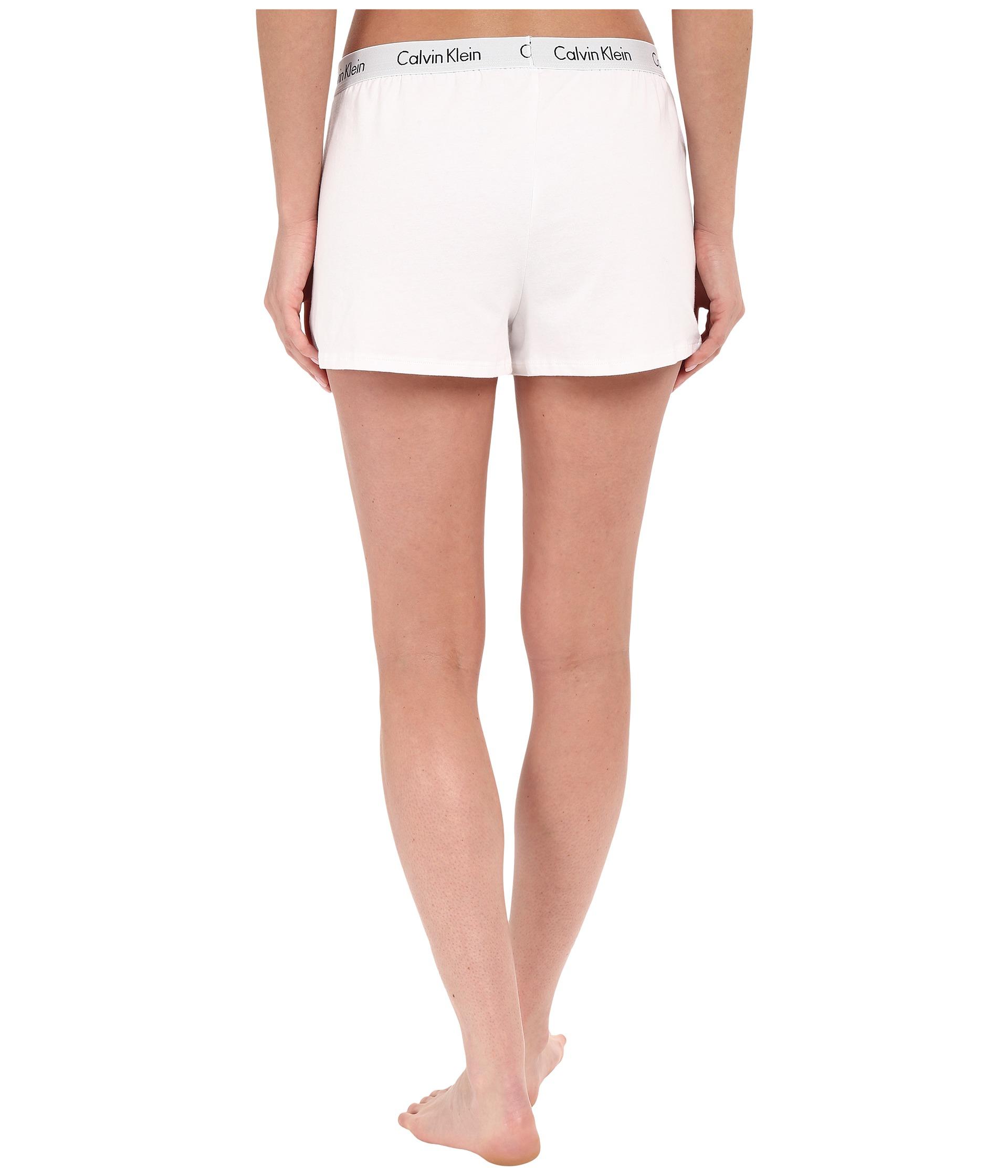 calvin klein underwear shift knit shorts free shipping. Black Bedroom Furniture Sets. Home Design Ideas