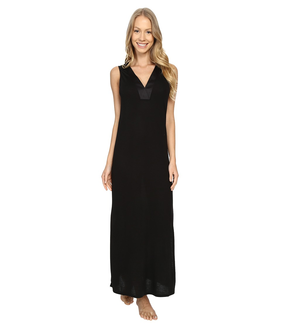 N by Natori Congo Gown Black Womens Pajama