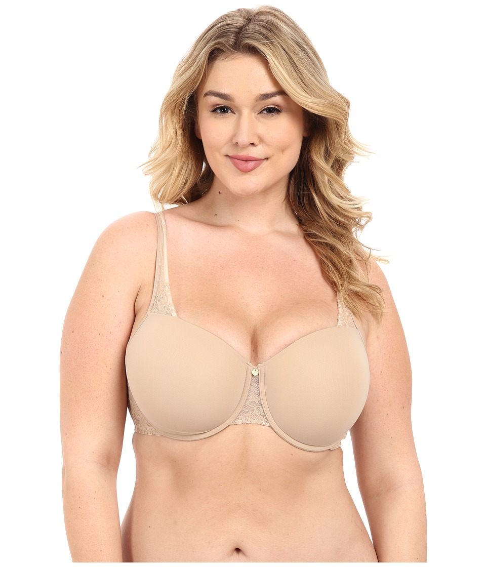 Natori Admire Full Figure Demi Lift Bra 733132 Cafe/Ivory Womens Bra