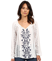 O'Neill - Holland Woven Embroidered Sleeved Top