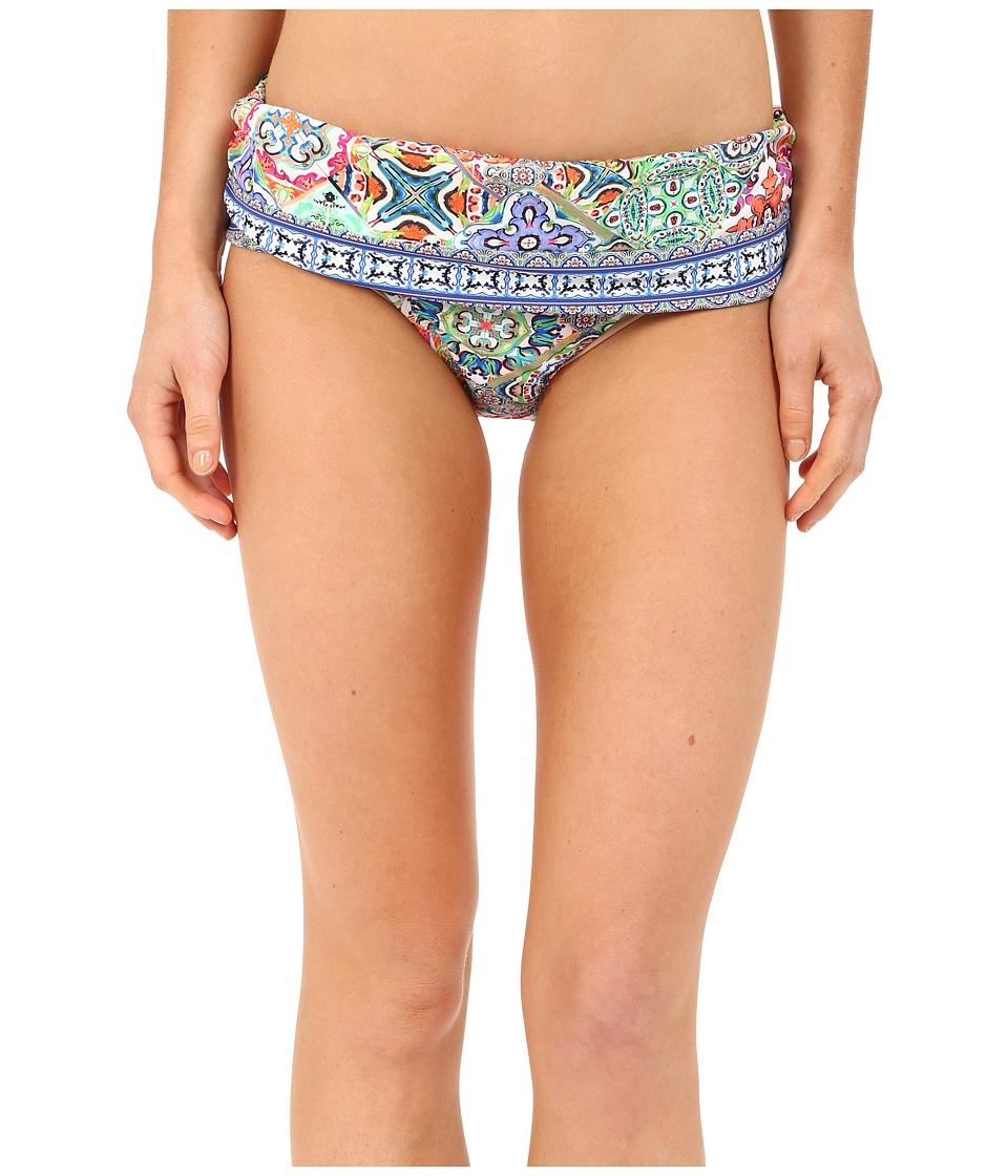 Nanette Lepore Greek Tiles Dreamer Bottoms Multi Womens Swimwear