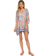Nanette Lepore - Greek Tiles Caftan Cover-Up