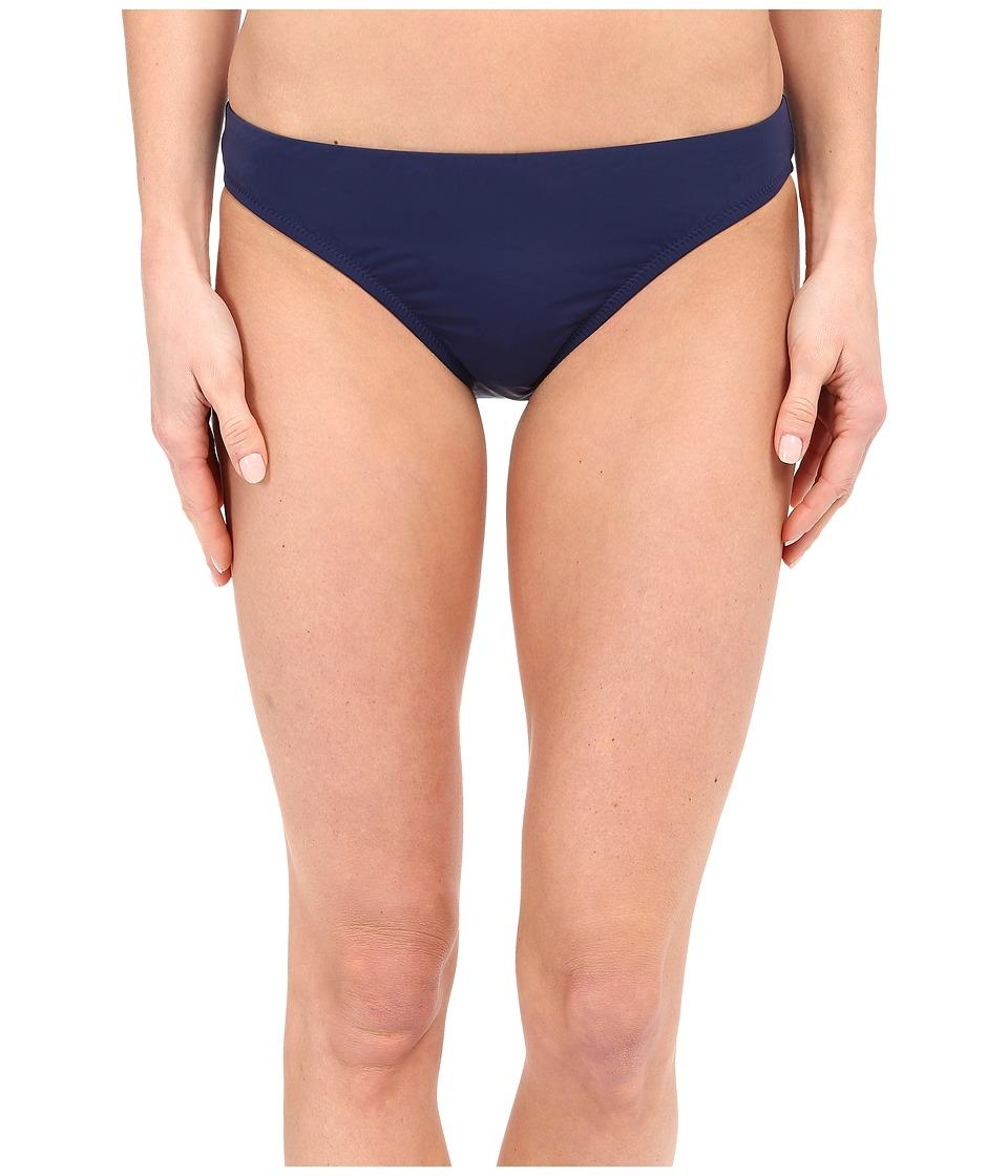 Nanette Lepore Kamari Reflection Solid Charmer Bottoms Aquamarine Womens Swimwear