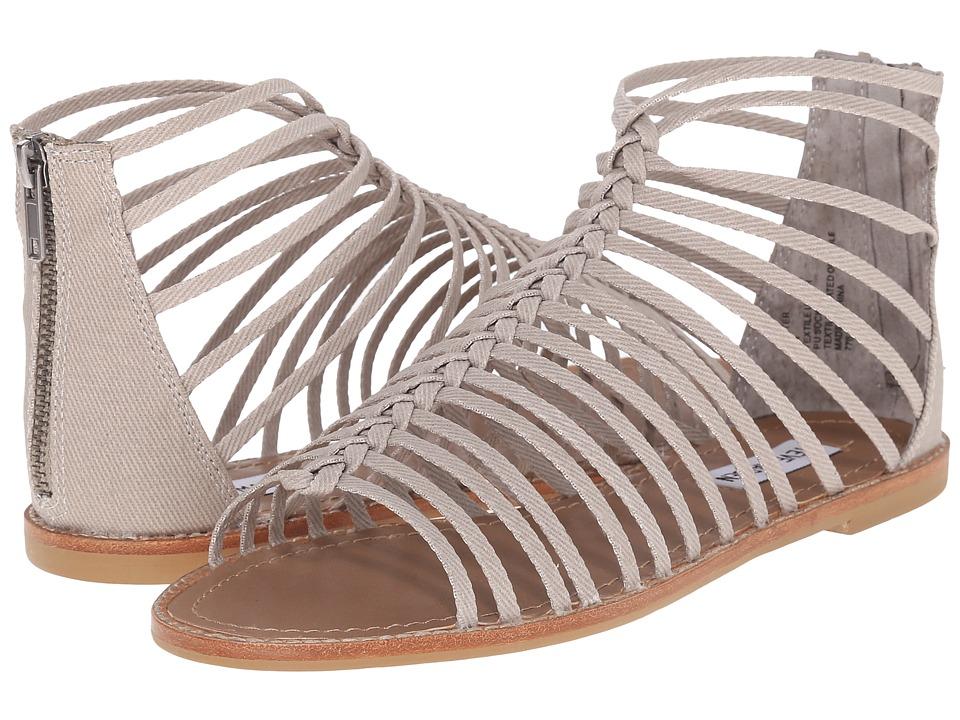 Steve Madden Kaster Grey Womens Sandals
