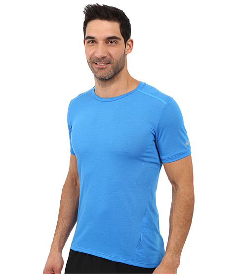 Nike dri fit cool tailwind running shirt modesens for Running dri fit shirts