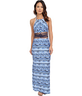 Nanette Lepore - Santorini Scallop Maxi Dress Cover-Up