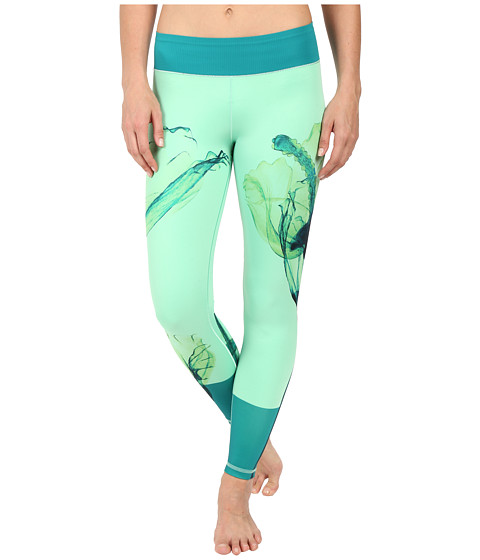 adidas Workout Mid-Rise Long Tights – Around The World Prints
