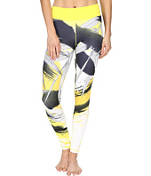 adidas - Workout Mid-Rise Long Tights - Around The World Prints