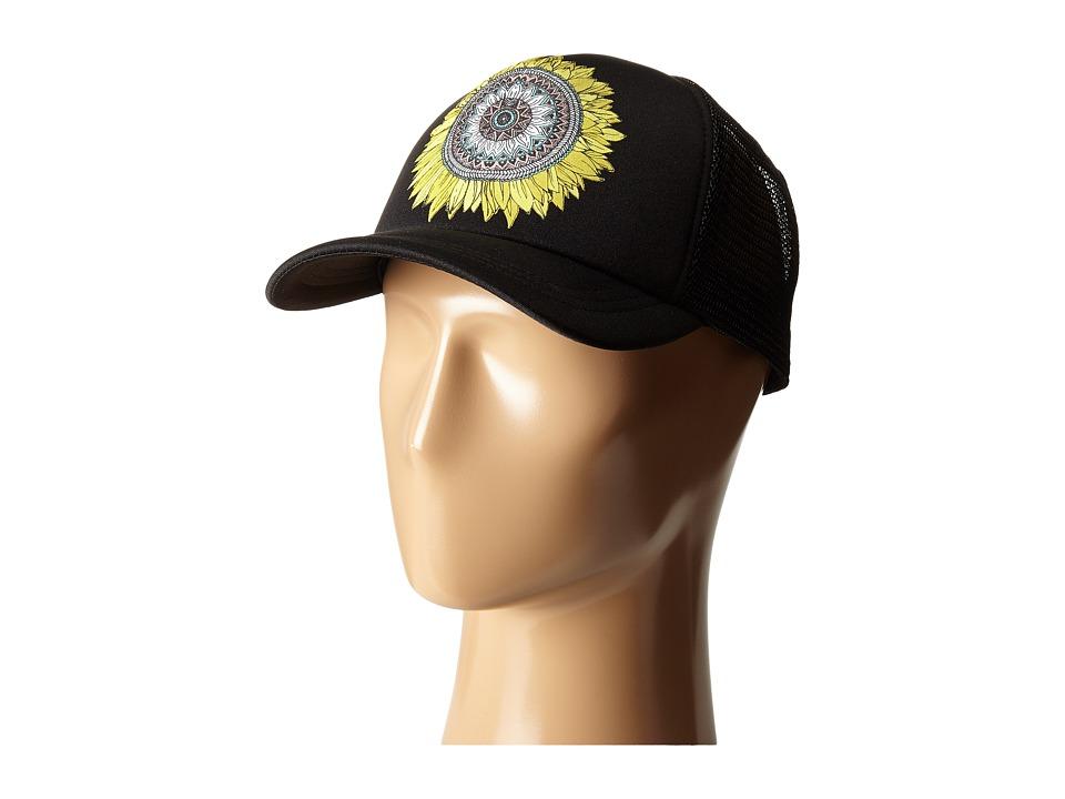 ONeill Beach Nomad Trucker Hat Black Caps