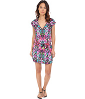 Nanette Lepore - Bali Batik Short Sleeve Tunic Cover-Up