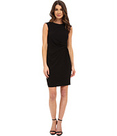Donna Morgan - Short Sleeve Rouched Side Jersey Dress
