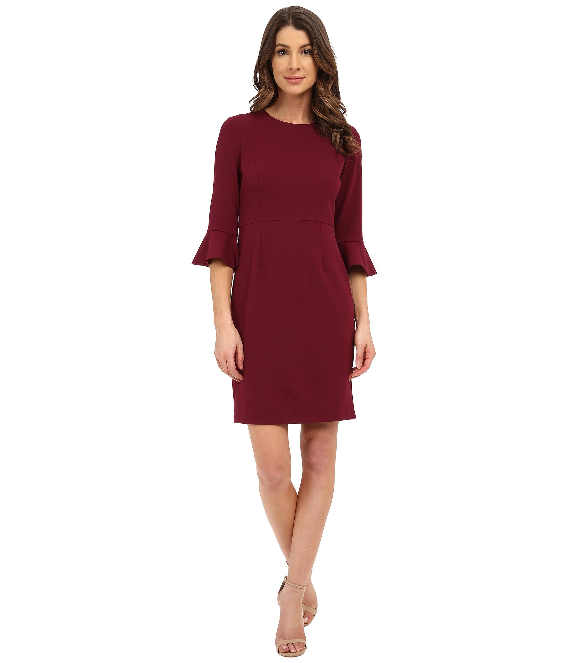Morgan red dress