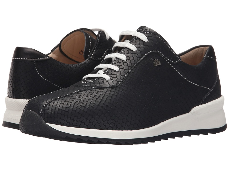 Finn Comfort Sarnia Nero/Schwarz Womens Lace up casual Shoes