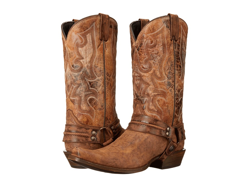 Stetson Outlaw (Distressed Brown) Cowboy Boots