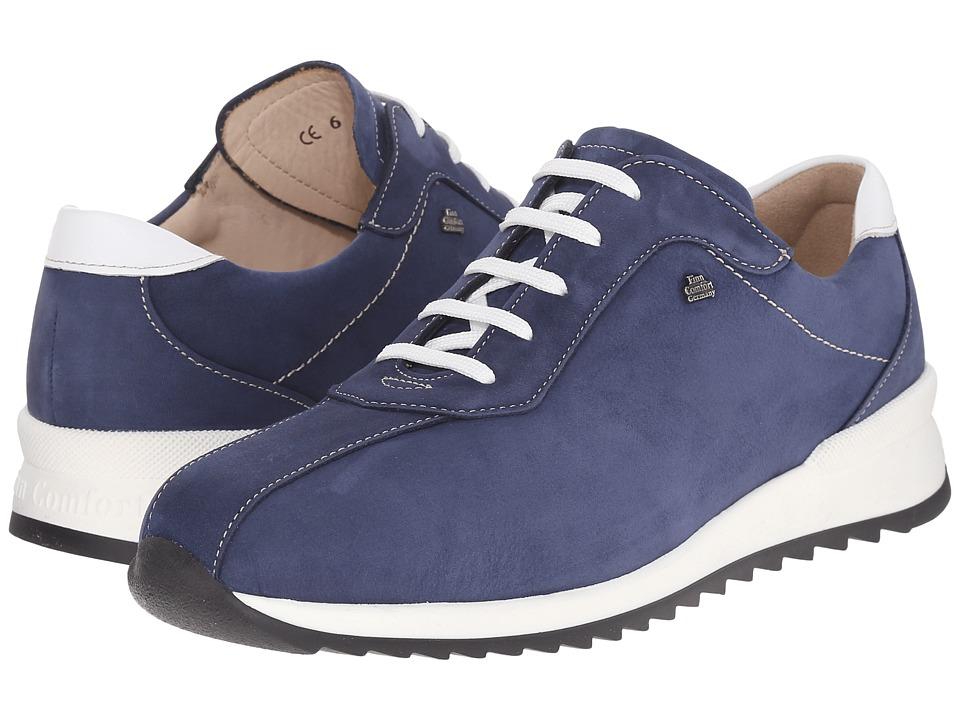 Finn Comfort Sarnia Denim/Weiss Womens Lace up casual Shoes