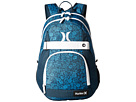 Hurley Honor Roll Printed Backpack (Photo Blue/Midnight Teal/White)
