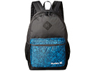 Hurley Mater Printed Backpack (Antracite/Photo Blue/Black/White)