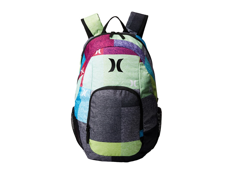Hurley - One and Only Backpack (Multi/Black/Black) Backpack Bags