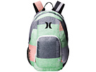 Hurley One and Only Backpack (Multi/White/Black)