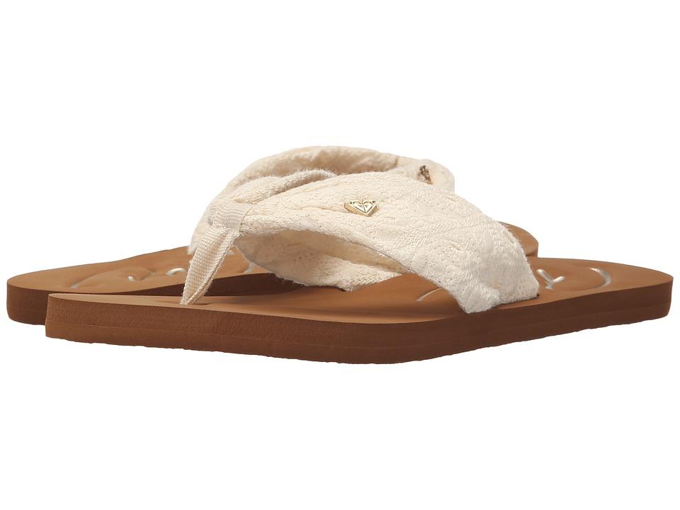 Roxy Caribe II Cream Womens Sandals