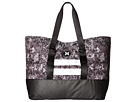 Hurley Beach Active Tote 2.0 Printed (White/Hyper Orange/Black)