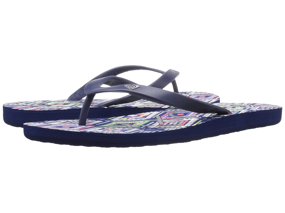 Roxy Tahiti V Dark Blue 2 Womens Shoes