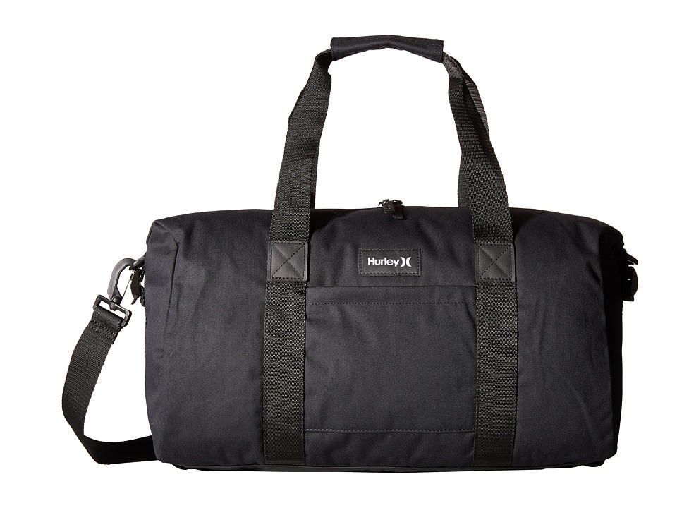 Hurley - Daley Duffle (Black/Black/White) Duffel Bags