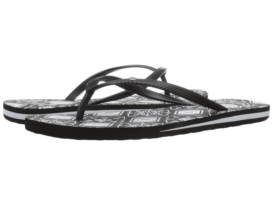 Roxy Bermuda Black/Armor Womens Sandals