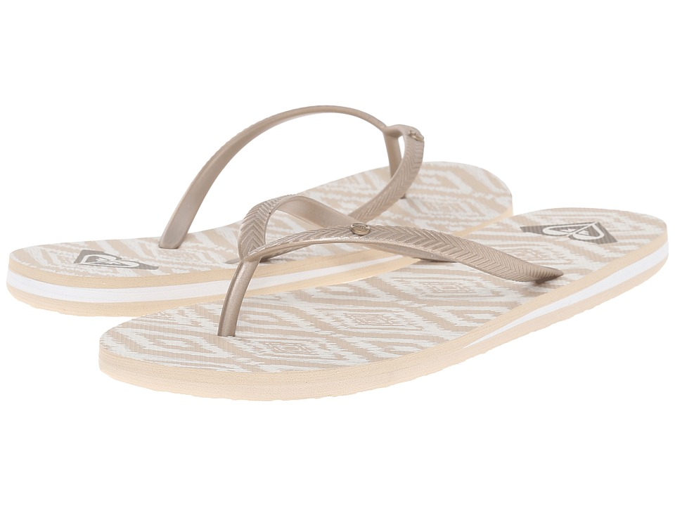 Roxy Bermuda Peach Cream Womens Sandals