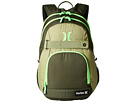 Hurley Honor Roll Solid Blocked (Carbon Green/Alligator/Voltage Green)