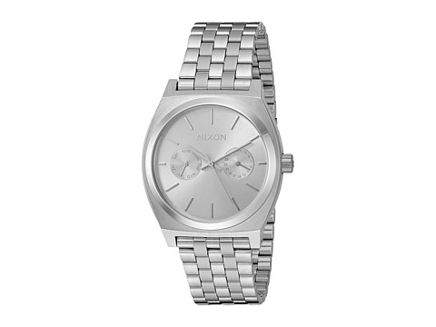 Nixon Time Teller Deluxe - All Silver