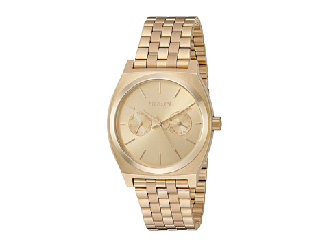Nixon Time Teller Deluxe - All Gold