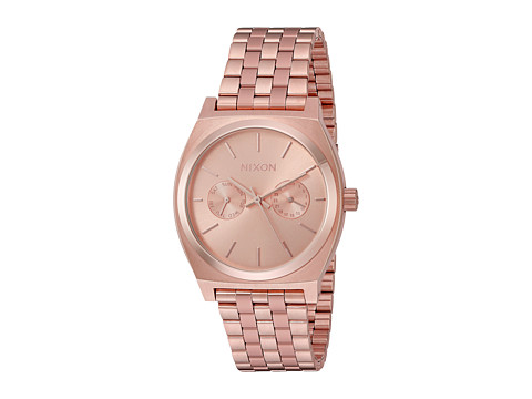 Nixon Time Teller Deluxe - All Rose Gold