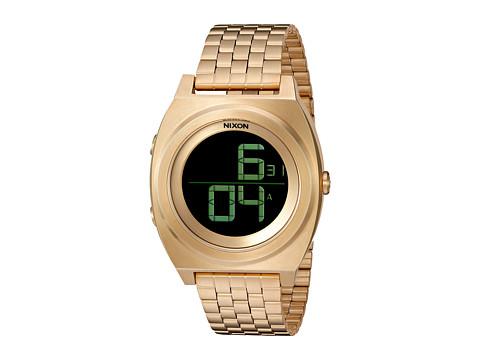 Nixon Time Teller Digi SS - All Gold