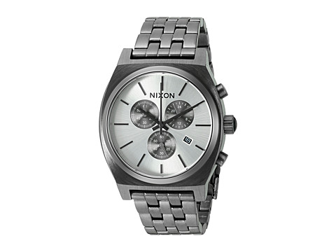 Nixon Time Teller Chrono - All Gunmetal