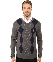 U.S. POLO ASSN. - Long Sleeve Argyle Sweater