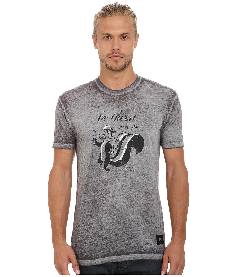 KINETIX Le Thirst Tee Grey Mens T Shirt