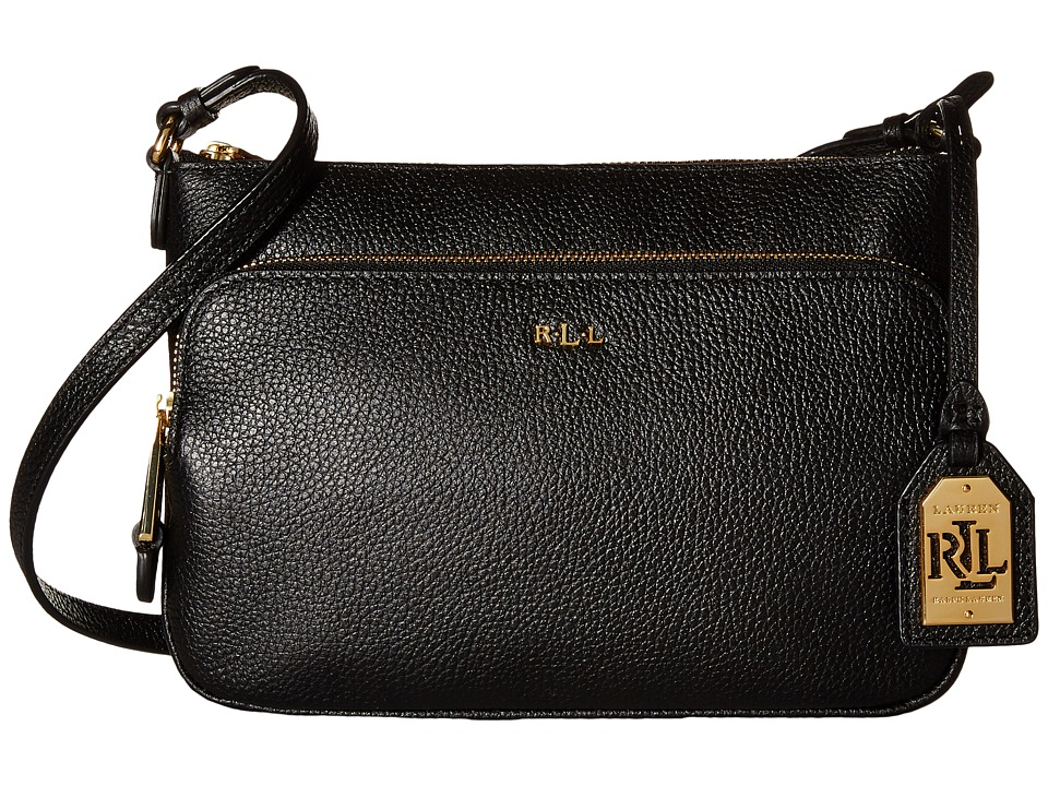 LAUREN Ralph Lauren - Harrington Crossbody (Black) Cross Body Handbags