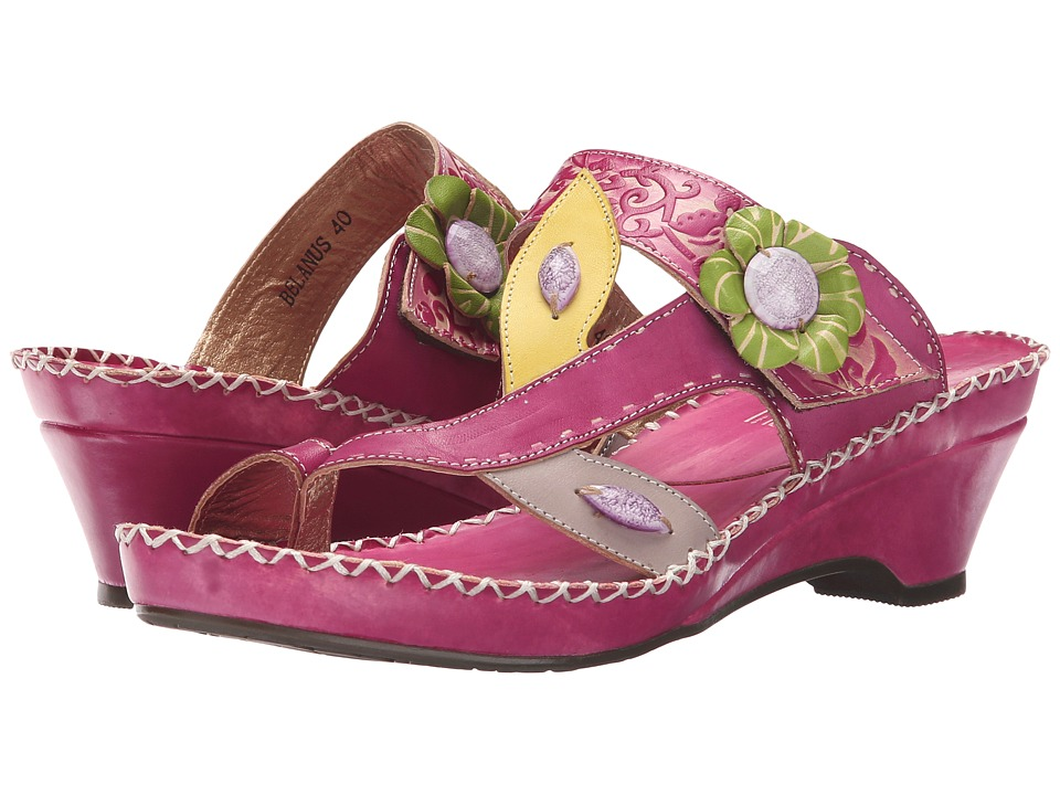 Spring Step Belanus Fuchsia Womens Shoes