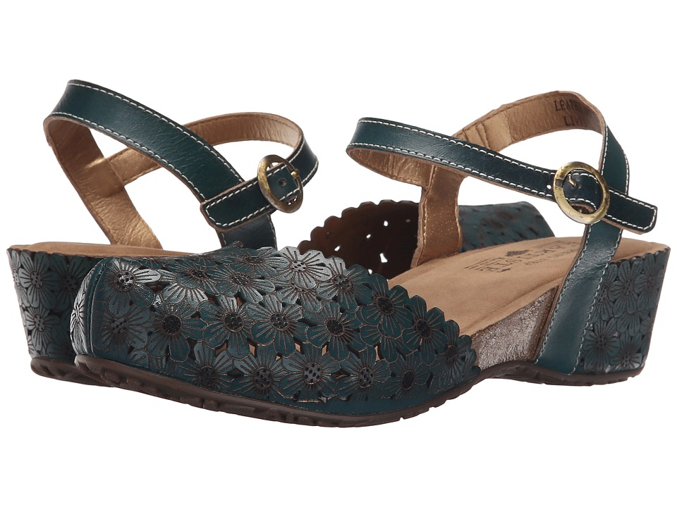 Spring Step Livvy Teal Womens Shoes