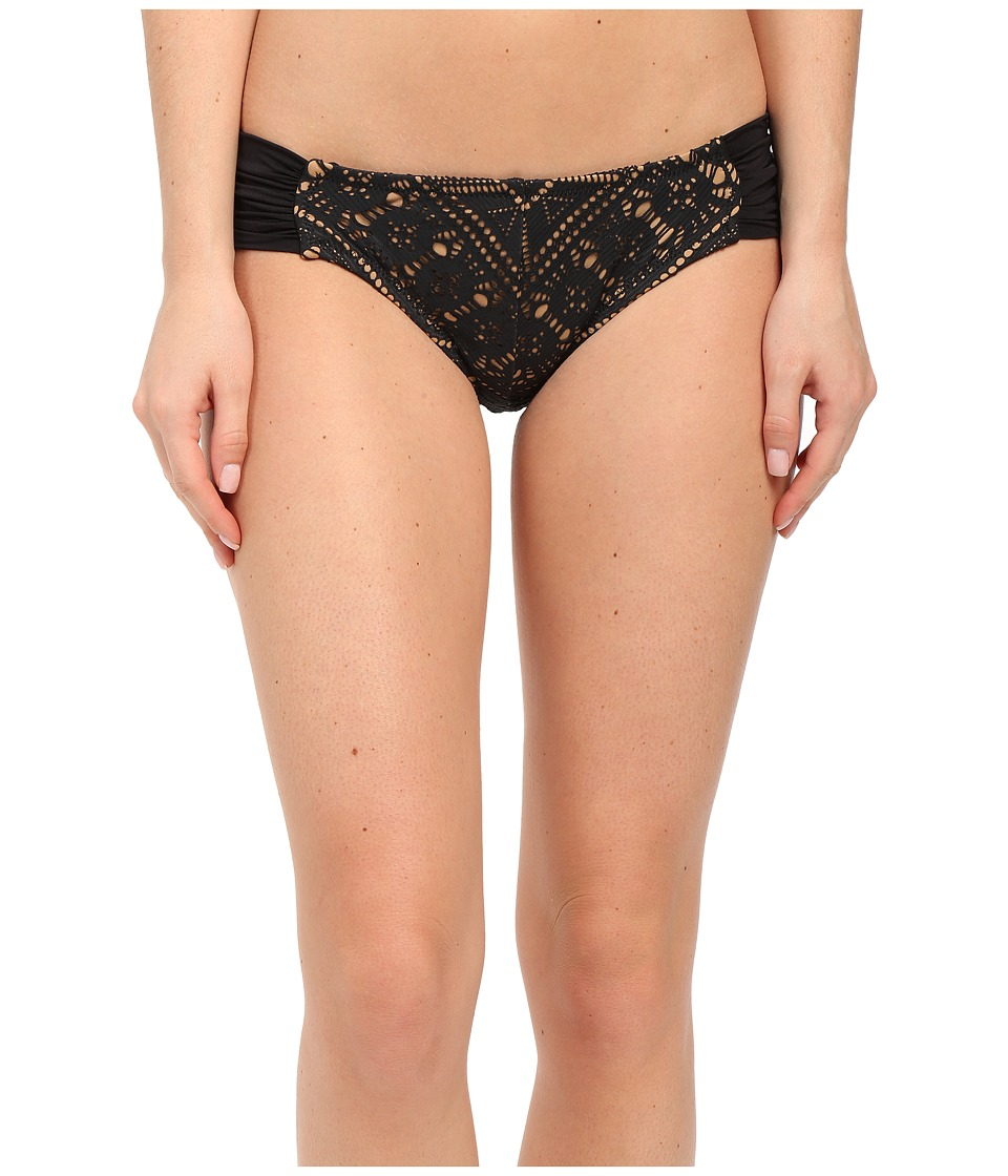 BECCA by Rebecca Virtue La Boheme American Bottom Black Womens Swimwear