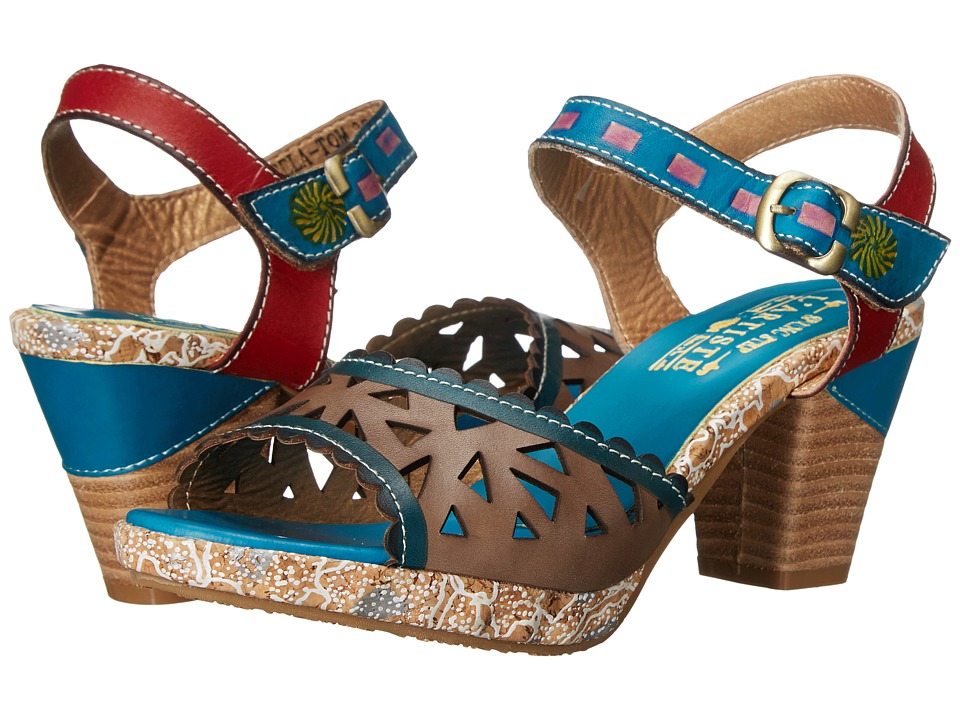 Spring Step Acela Turquoise Womens Shoes