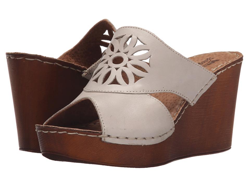 Spring Step Beshka Gray Womens Wedge Shoes