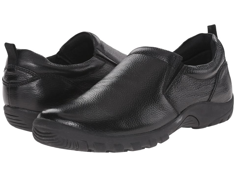 Spring Step Beckham Black Mens Shoes