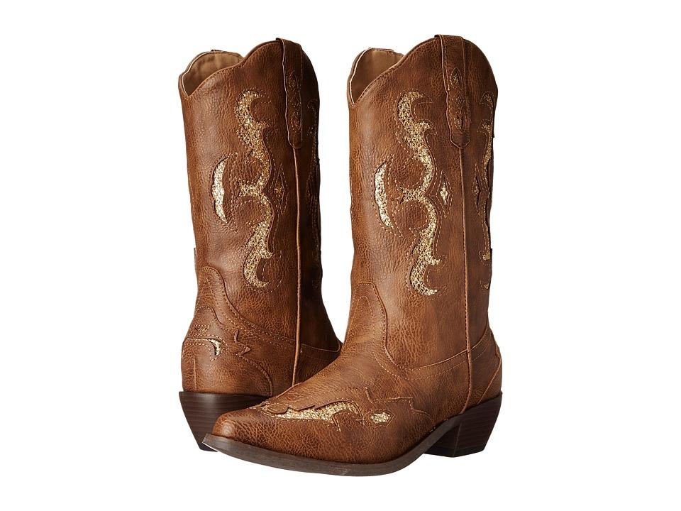 Roper Clara Glitter (Light Beige) Cowboy Boots